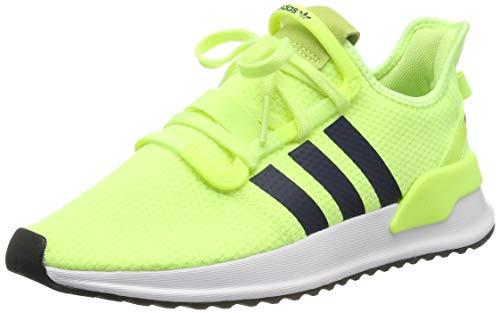 adidas Herren U_Path Run Sneaker, Gelb (Hi-Res Yellow/Collegiate Navy/Footwear White 0), 46 EU -