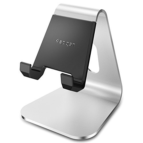 iPhone Stand, Spigen [Smartphone Stand] [Mobile Stand] Comfortable viewing angle easy use quick connection for iPhone 7/7 Plus/6s/6s Plus,Galaxy S7/S7 Edge/S6,Galaxy Note 5/4,Nexus 5x/6P,LG G5 and More- S310 (SGP11576) Test