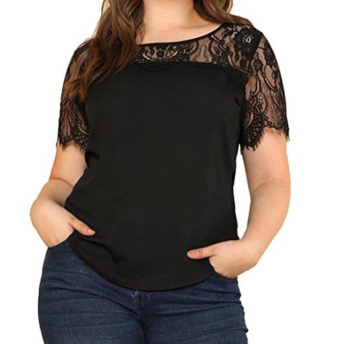 FAMILIZO Camisetas Mujer Tallas Grandes ❤️XL~5XL