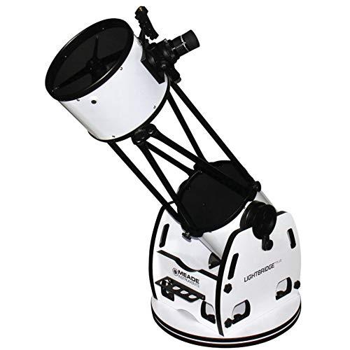 Meade Instrumente 1005–05–03LightBridge 25,4cm Truss Tube Dobson Reflektor Teleskop, offene Truss (schwarz)