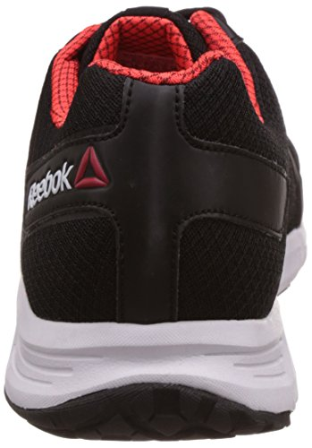 brand new b5cae 9d5e6 ... Reebok Men s Edge Quick 2.0 Black, Atomic Red and White Running Shoes - 7  UK ...