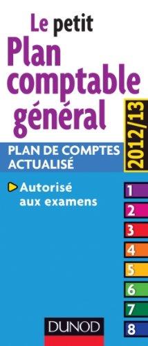 Plan comptable général 2012/2013-13e édition - Plan comptable actualisé