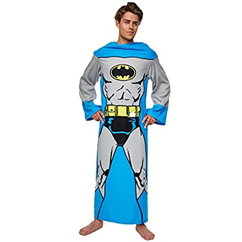 Adulte Batman Onesie - DC Comics - Couvertures Batman Longues Manches