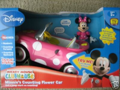 Mickey Mouse Clubhouse Minnie's Counting Flower Car by Mickey Mouse