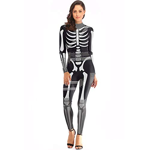 Mujer Sexy Mono Catsuit 3D
