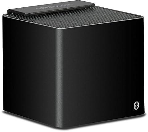 Speedlink Hilo Aktiver kabelloser Bluetooth-Lautsprecher (2 Watt RMS, 4 Std Akkulaufzeit, kompaktes Mini-Format) (Handy Akkulaufzeit)