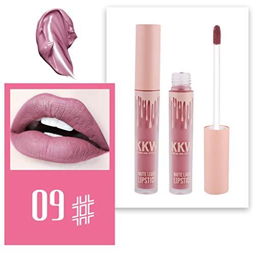 Matte Lippenstifte Wasserfest Langlebig Liquid Lipstick Lipgloss Sexy Liquid Lip Gloss Langlebig Wasserdicht 24 Stunden halten By Vovotrade