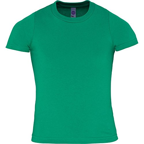 American Apparel Boys & Girls Fine Jersey Short Sleeve Kids T-Shirt (T-shirt Apparel Kinder American)