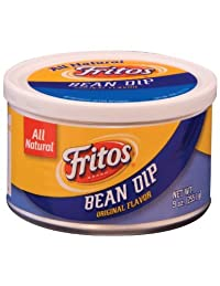 Frito Lay Fritos Bean Dip Flavor 9Oz Canister Pack Of 3