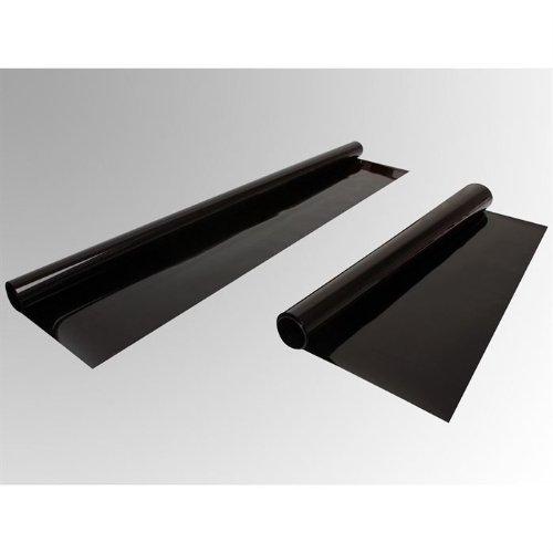 FORMULA Kombi 505555 - Pellicola per oscuramento vetri, con trasmissione della luce del 5%, colore: nero