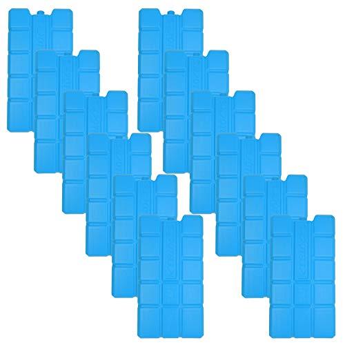 NEMT 12 x Kühlakku 750 ml Kühlelemente für die Kühltasche oder Kühlbox Kühlakku