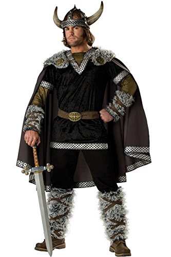 Incharacter Kost-me IC1060-M Adult Elite Viking Warrior Kost-m Gr--e Medium