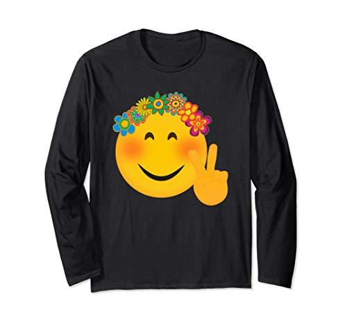 Blumen Des Krieges Kostüm - Lustige Hippie-Friedenszeichen Süß Frieden Zeichen Blumen