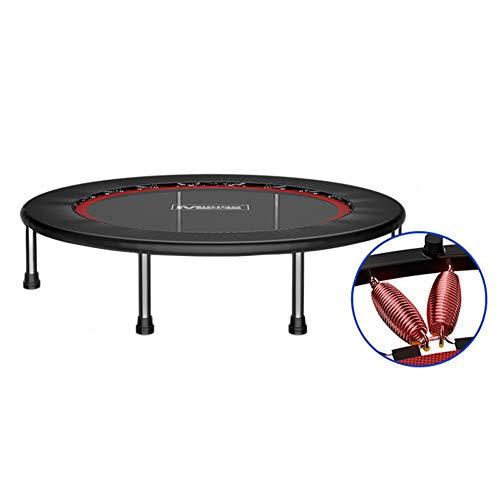 Trampolin, 50-Zoll-Falt-Trampolin-Indoor-Fitness-Rebounder für jeden Innenraum - Max Load 300KG