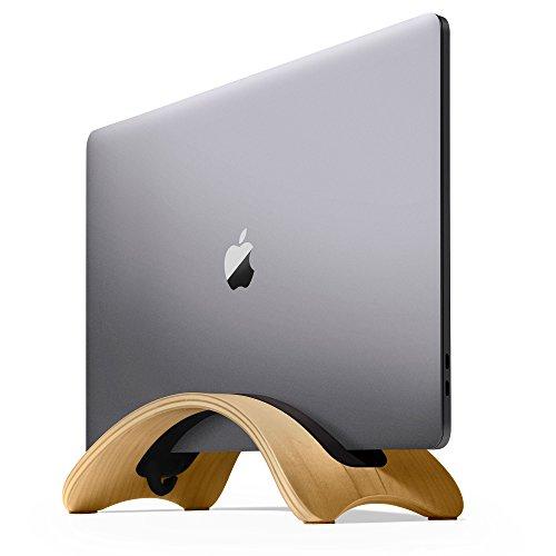 Twelve South BookArc mod für MacBook, Birke | Moderner Holz-Tischständer für aktuelle MacBook Modelle