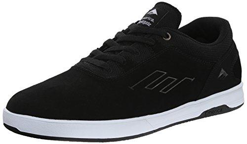 Emerica - Westgate Cc, Scarpe da skateboard Uomo Black/White