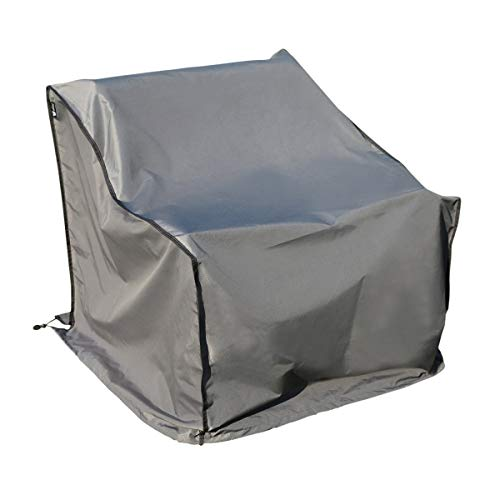 SORARA | Copertura Protettiva | per Divano | Grigio | 241 x 86 x 90/61 cm (L x L x A) | Resistente all'Acqua | Forte e Durevole | Premium | Mobilia da Giardino e Patio