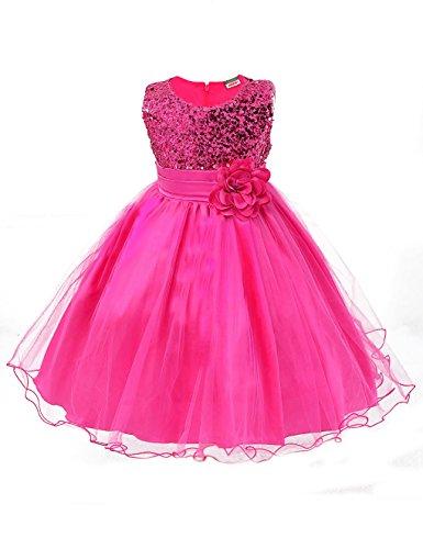 Showtime Mädchen Kleid Pinzessin Kostüm - Rosa - ca. Alter 3 bis 4 (in (Rosa Satin Mädchen Kostüme)
