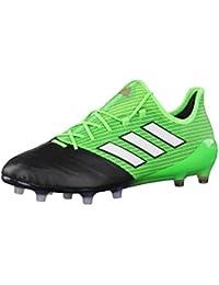 adidas X 16.1 Leather Fg, Scarpe per Allenamento Calcio Uomo, Bianco (Ftwbla/Negbas/Versol), 46 EU