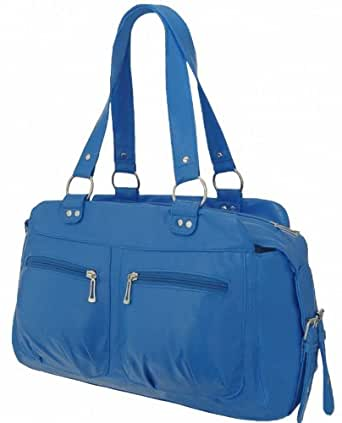 EyeCatchBags - Dakota Grab Bag Handbag Blue