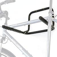 Hinrichs Soporte Bicicletas Pared - Portabicicletas de Pared Plegable para un máximo de 3 Bicicletas (máx. 55kg) - Incluye un Limpiador para la Cadena de la Bicicleta