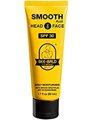Bee Bald Smooth Plus Daily Moisturizer with SPF 30 Broad Spectrum Sunscreen by Bee Bald