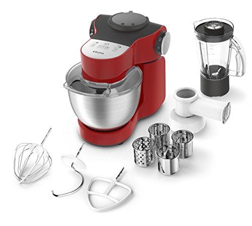 Krups Robot de cuisine Master Perfect, 4l, 700W, avec accessoires