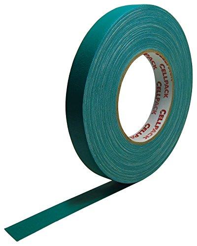 Cellpack 146054900.305-19-50, Stoff-Band, beschichtete Baumwolle, grün