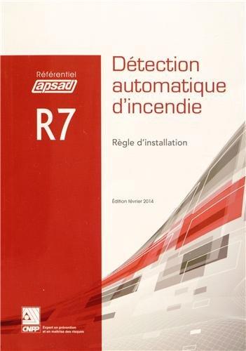 Détection automatique d'incendie R7 : Règle d'installation