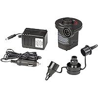 Intex 156235, Pompa Elettrica con Accendisigari e Presa Elettrica, Nero, 220 V (presa)/12 V (auto)