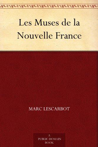 Couverture du livre Les Muses de la Nouvelle France
