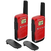 Motorola Talkie-walkie portée de 4 km Rouge