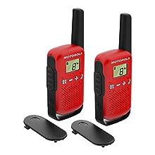 Radio portatile Motorola TALKABOUT T42 ROSSO set con 2 pzola PNI-MTAT42R Radio Portatile