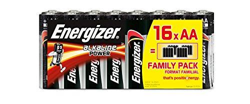 Energizer Batterie Alkaline Power AA (Mignon/LR6 16er Schlauchware)