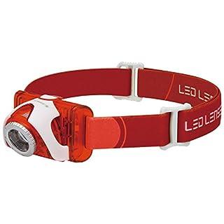 Ledlenser SEO5-RD LED Head Torch (Red) - Test-it Pack, 6106