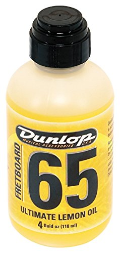 Dunlop DL PF 00004 6554 Lemon Oil 4 oz Griffbrett Ultimate Zitronen/Lemon Oil -