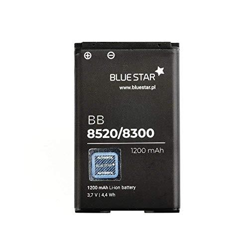 Bluestar Akku Ersatz kompatibel mit BlackBerry Curve 9300 3G / 9330 3G 1200 mAh 3,7V 4,4 WH Austausch Batterie Handy Accu (9330 Akku Blackberry)