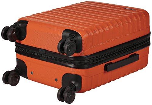 AmazonBasics Hartschalen-Trolley - 55 cm Kabinengröße, Orange - 5