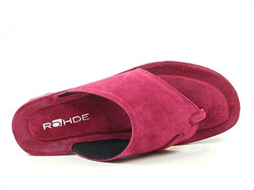 ROHDE 133047 femmes Sandales pink