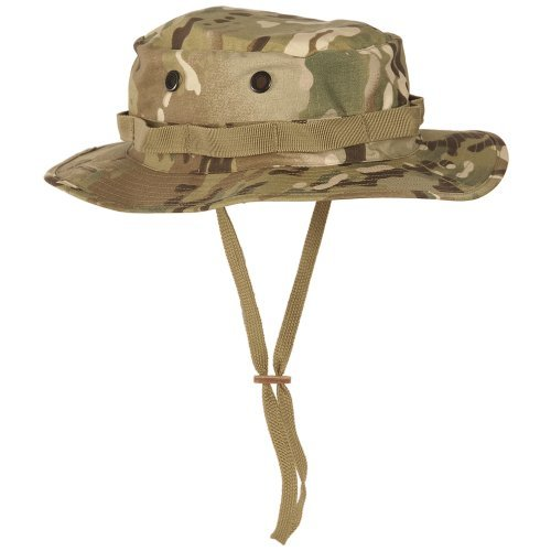 28be7824f7b Teesar Tactical Army GI Boonie Jungle Bush Hat Fishing Cap MultiCam Camo  59-60cm (