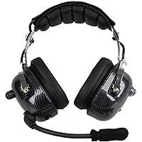 ANC Aviation Headset cuffie professionali Eliminazione interferenze Cuffie  Parapendio corsa 71211c31e254