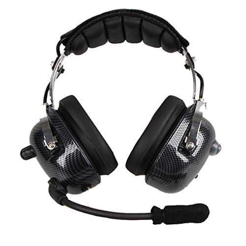 Fangfeen ANC Aviation Headset Kopfhörer Professionelle Active Noise Cancelling Kopfhörer Paraglider Racing Kopfhörer Noise Cancelling Aviation Headsets