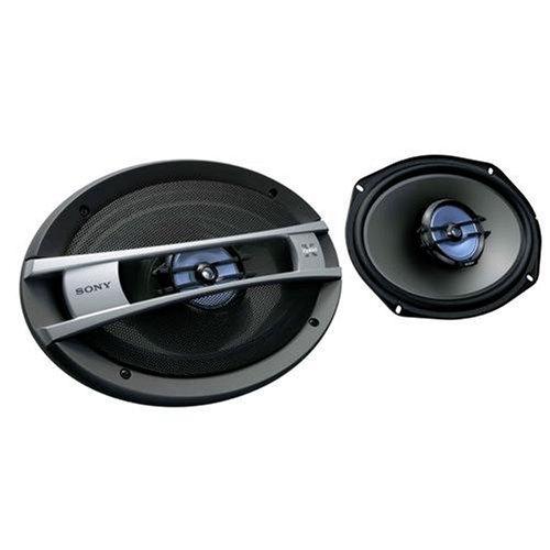 Sony Xplod Auto (Sony XS F 6926 SE 6 x 22,9 cm (9 Zoll) 2-Wege-Koaxial-Auto-Lautsprecher (280 Watt) schwarz)