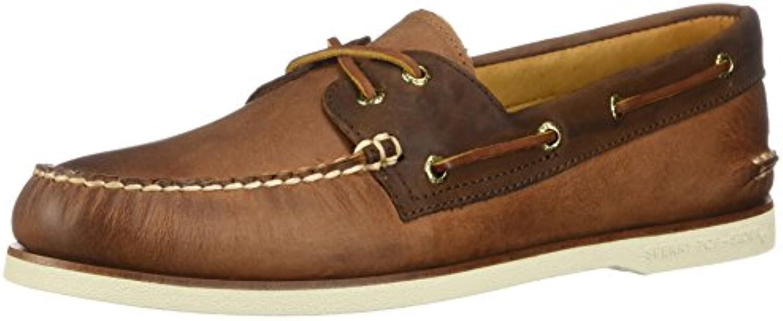 Sperry Top-Sider Hombre Gold A/O Zapatos para Barcos de 2 Ojos, Marrón  -