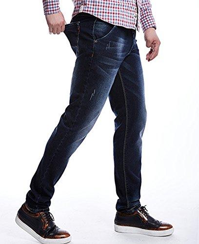 SK Studio - Jeans - Homme bleu foncé