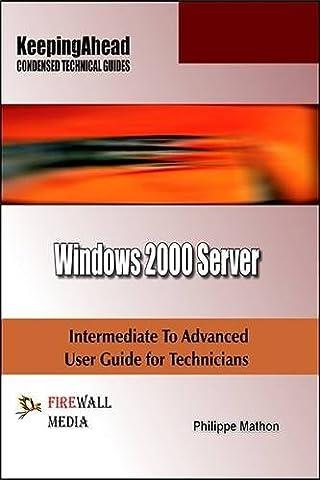 Keeping Ahead - Windows 2000