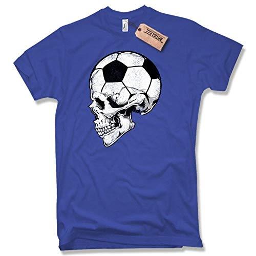 4850aa960 Rebirth Football Skull Jersey Soccer Skull 2019 Germany Old School Men s T- Shirt
