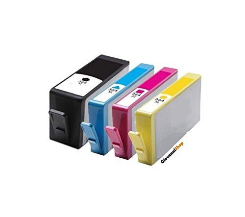 Preisvergleich Produktbild Giovanni Shop Sardinien-kompatible Tintenpatronen HP 364X L Photosmart 55206520752055105524651075105515551455115522Premium C310a C309a C410b B010B109B110Officejet 462046224610Deskjet 3070A 3520352135223524 4 schwarz