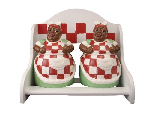 aunt-jemima-2-pc-cookie-jar-with-wooden-rack-display-by-ack