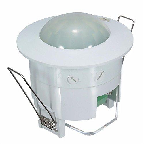 CL Bewegungssensor Detektor Belegung Lichtschalter AC 220V360 Grad PIR Decke (Led-belegungs-sensor-licht)